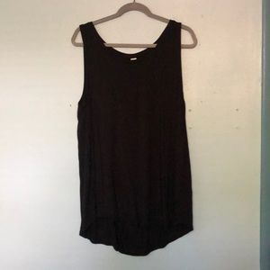 Black flowy tank top from Old Navy